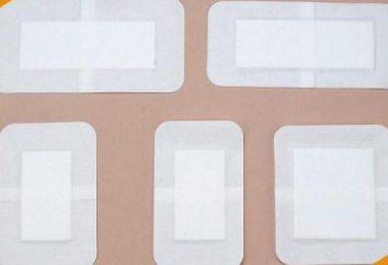 Band-aid sulla base di tessuto: tipologie, caratteristiche, l'applicazione