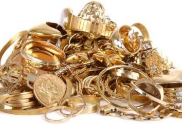 Pourquoi rêve de bijoux en or et de l'or?
