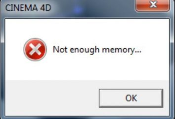 El sistema no tiene suficiente memoria: cómo fijar?