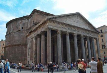 Panthéon à Rome – un monument de la culture antique