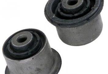 Sostituzione del silent block VAZ-2107. Sostituendo i blocchi superiori ed inferiori silenziosi VAZ-2107