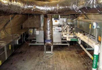 cabaña de ventilación: etapas de la creación