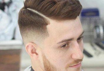 Cortes de cabelo para homens se separaram – um destaque no seu caminho