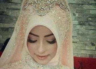 Come legare una sciarpa sul soprannomi. Diversi modi di legare il velo islamico per un matrimonio