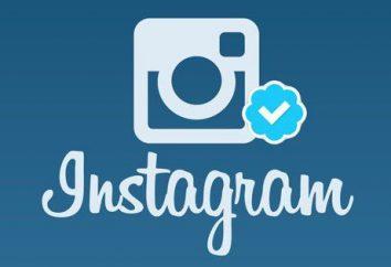 """Jak dostać się kleszcza w """"Instagrame"""" Weryfikacja konta"""