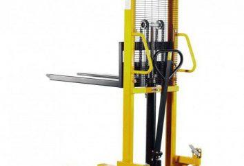 Como escolher o empilhador manual. Hidráulica Empilhadoras manuais: preço e comentários