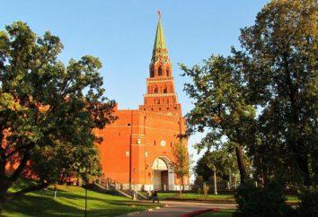 histoire tour Borovitskaya Kremlin de Moscou. Comment se rendre à la tour?