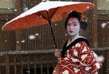 maquillage japonais – de Geisha anime