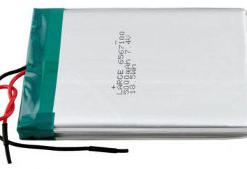 Batteria al litio: recensioni, le descrizioni, i tipi, produttori e recensioni