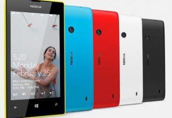 Nokia Lumia 520: caracterización, opiniones