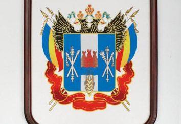 Brasão da área de Rostov: a descrição e significado das cores