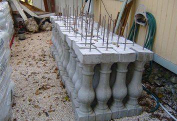 Tralki betonowe: Produkcja i montaż funkcje
