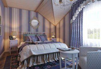 Provence de style à l'intérieur d'une chambre – une solution à la mode