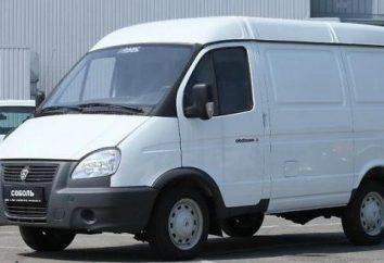 """Especificações GAS 2752 """"Sobol"""": o dispositivo, o motor de combustão interna, o consumo de combustível e características do carro"""