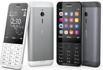 """""""A Nokia 230"""" – seleccionar o telefone para chamadas"""