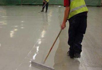 Pavimento in poliuretano autolivellante in poliuretano (foto)