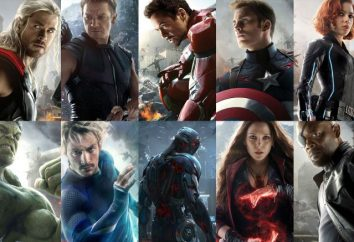 "film ""The Avengers"". Personaggi noti e da scoprire"