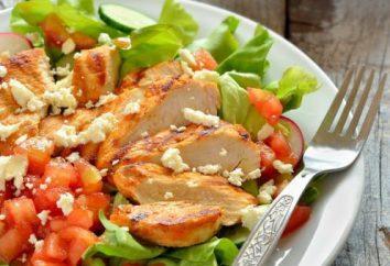 Jak przygotować ciepłą sałatkę z piersi kurczaka?