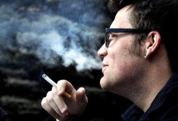 intoxication à la nicotine: les symptômes, les premiers soins et le traitement