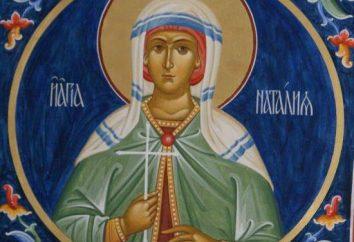 San Nataliya Nikomidiyskaya: la vita