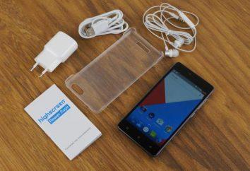 Smartphone Highscreen Moc Rage: opinie i zdjęcia