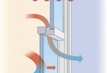 Vent valve pour fenêtres en plastique. Formulaires et avantages du dispositif