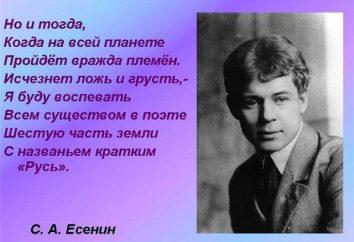 Relisant les classiques: Sergei Yesenin, « la Russie soviétique » – l'interprétation et l'analyse du poème