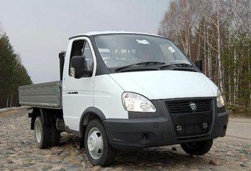 """GAZ-33027 """"Farmer"""": Allradantrieb """"Gazelle 4 * 4"""""""