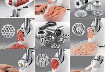 """Moedor de carne """"Scarlet"""": modelos, características, análises. Como escolher um moedor de carne para uma casa?"""