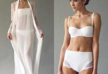 Wie man eine Hochzeit Unterwäsche unter ihrem Kleid wählen?