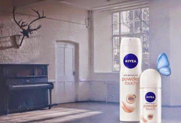 """Desodorante """"Nivea"""", """"Efeito do pó"""": opiniões dos clientes. Desodorante antitranspirante-NIVEA «Efeito pó"""": as características e características"""
