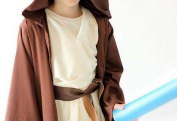 Jedi bohater – kombinezon dla dzieci własnymi rękami