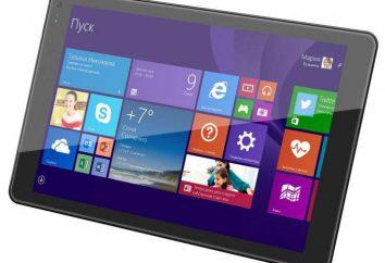 Tablet Qumo Vega 8008W: Descrição, especificações, comentários