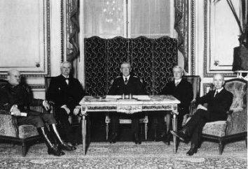 El Tratado de Versalles y el resultado de la Primera Guerra Mundial