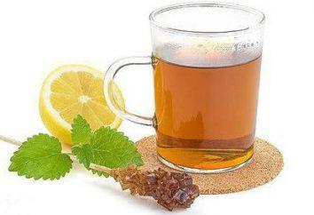 """Chá com Melissa: os benefícios e malefícios. Tea """"Greenfield"""" com Melissa"""