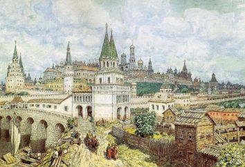 Etapy i warunki zjednoczenia ziem ruskich