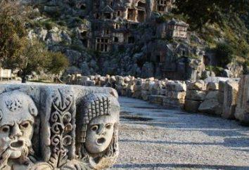 Demre-Mira-Kekova (Turquia). Excursões e atrações da Turquia: Demre-Mira-Kekova