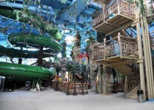 "Un parco acquatico a Kiev. ""Dream Town"", Kiev (parco acquatico). Un parco acquatico a Brovary"