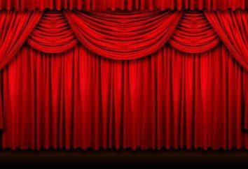 Teatr kurtyna. Wyposażenie i konstrukcja sceny teatralnej