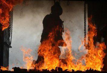 la direzione decisiva al fuoco: 5 principi. estinzione di un piano di fuoco