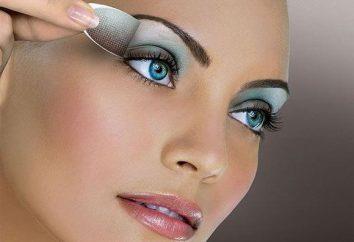 Das richtige Make-up für blaue und grüne Augen