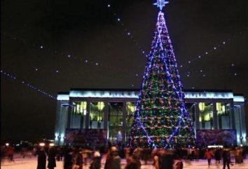 Wo Neujahr in Minsk feiern?