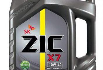 """Olej """"ZIK 10W-40"""": opinie. Ocena olejów silnikowych Zic"""