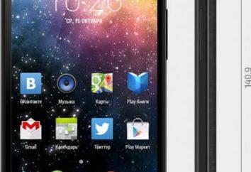 Przegląd smartphone Highscreen poboczy: opis, funkcje i opinie