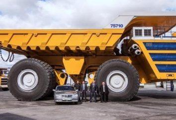 BelAZ-75710 – máquina más grande del mundo
