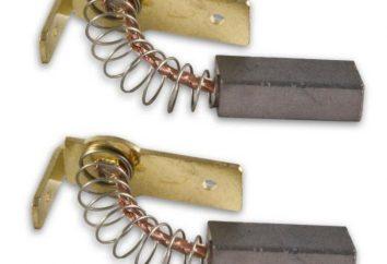 spazzole del motore: tipi di assegnazione, la sostituzione