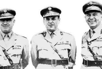 Coronéis – diktitura militar na Grécia. características da junta