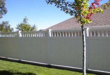 Jak zbudować ogrodzenie wykonane z PVC własnymi rękami: opinie, zdjęcia