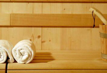 Ciò che è diverso da una sauna? apparato bagno e sauna