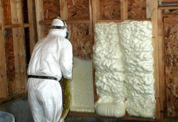 Desvantagens da espuma de poliuretano como o isolamento